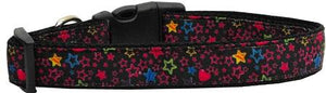 Black Star Nylon Dog Collar-DOGS-Bella's PetStor