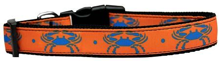 Blue Crabs Nylon Dog Collar-DOGS-Bella's PetStor