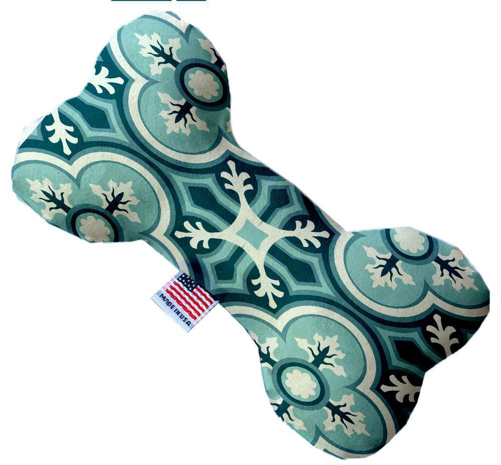 Blue Lagoon Inch Canvas Bone Dog Toy-Made in the USA-Bella's PetStor