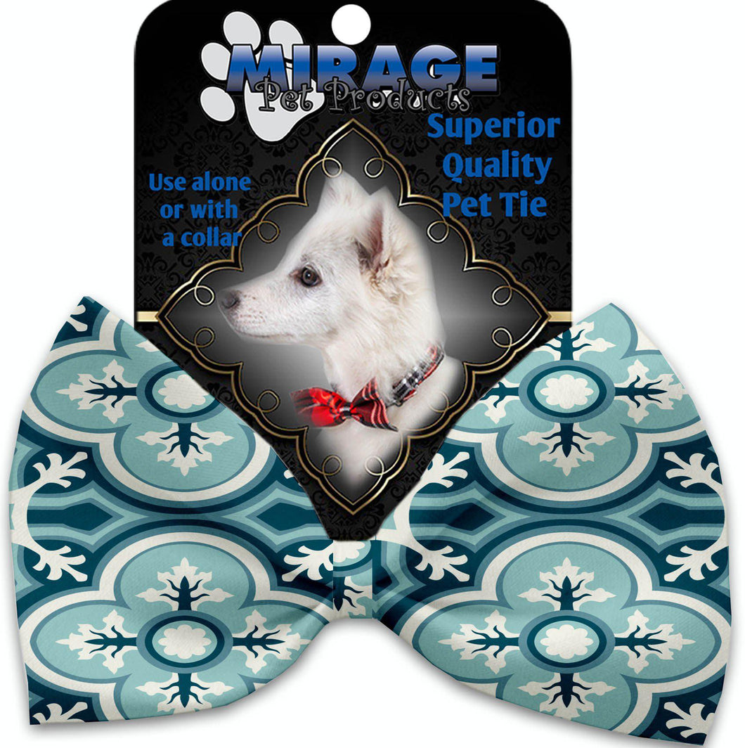 Blue Lagoon Pet Bow Tie Collar Accessory With Velcro-Bow Ties-Bella's PetStor