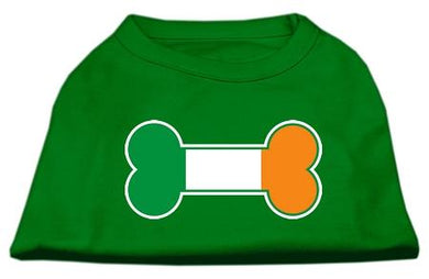 Bone Flag Ireland Screen Print Shirt Emerald Green-Dog Clothing-Bella's PetStor