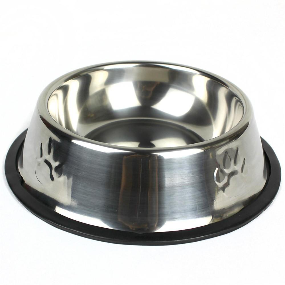 Bowl, Stainless Steel, Round-Bowl-Bella's PetStor
