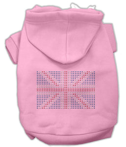 British Flag Hoodies-Dog Clothing-Bella's PetStor