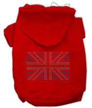 Load image into Gallery viewer, British Flag Hoodies-Dog Clothing-Bella's PetStor