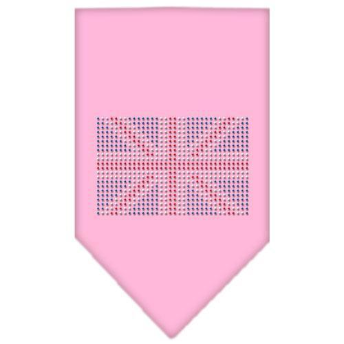 British Flag Rhinestone Bandana-Dog Clothing-Bella's PetStor