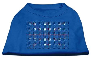 British Flag Shirts Blue-Dog Clothing-Bella's PetStor