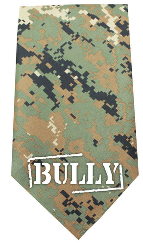 Bully Screen Print Bandana-Dog Clothing-Bella's PetStor