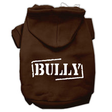 Load image into Gallery viewer, Bully Screen Printed Pet Hoodies Size-Dog Clothing-Bella's PetStor