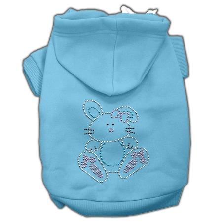 Bunny Rhinestone Hoodies-Dog Clothing-Bella's PetStor