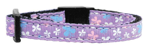 Butterfly Nylon Ribbon Collar Cat Safety-Dog Collars-Bella's PetStor