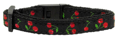 Cherries Nylon Collar Cat Safety-Dog Collars-Bella's PetStor
