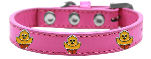 Chickadee Widget Dog Collar Size-Easter-Bella's PetStor