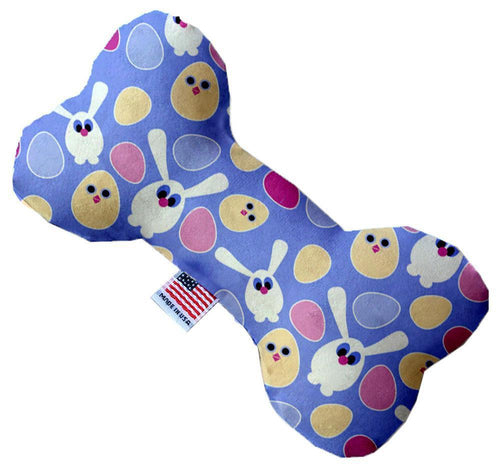 Chicks And Bunnies Inch Canvas Bone Dog Toy-Made in the USA-Bella's PetStor