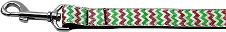 Christmas Sparkle Chevron Nylon Dog-DOGS-Bella's PetStor