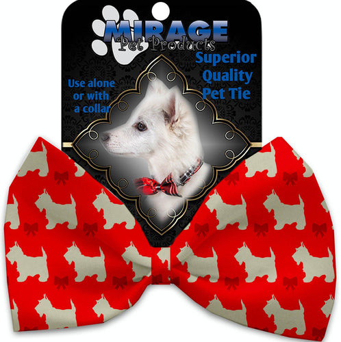 Christmas Westies Pet Bow Tie-Christmas, Hannakuh-Bella's PetStor