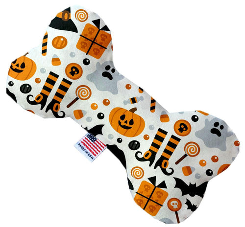 Classic Halloween Inch Canvas Bone Dog Toy-Made in the USA-Bella's PetStor