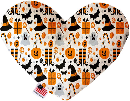 Classic Halloween Inch Canvas Heart Dog Toy-Made in the USA-Bella's PetStor