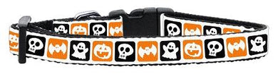 Classic Halloween Nylon Ribbon Collar-Holidays-Bella's PetStor