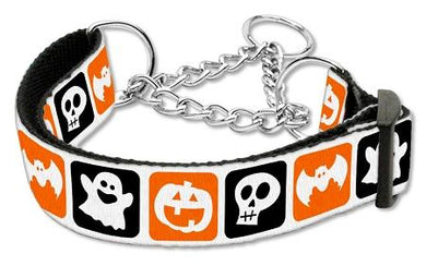 Classic Halloween Nylon Ribbon Collar Martingale-Holidays-Bella's PetStor