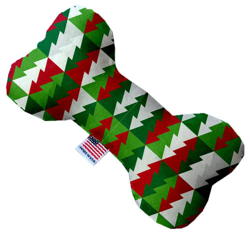 Classy Christmas Trees Inch Canvas Bone Dog Toy-Made in the USA-Bella's PetStor