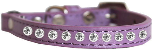 Clear Jewel Cat Safety Collar Size-Cat Collars-Bella's PetStor