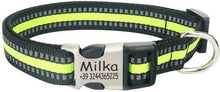 Load image into Gallery viewer, Collar, Personalized, Nylon, 4 Colors, XS-XL-Overseas-Bella's PetStor