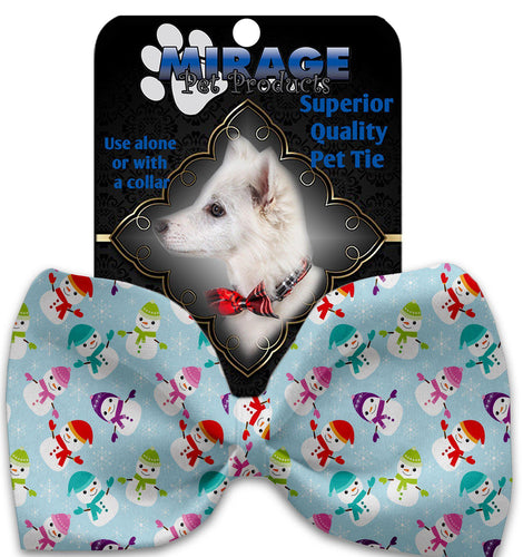 Colorful Frosty Pet Bow Tie-Christmas, Hannakuh-Bella's PetStor