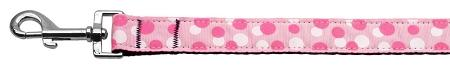 Confetti Dots Nylon Collar Light Pink Lsh-Dog Collars-Bella's PetStor