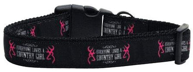 Country Girl Nylon Cat Collar-Dog Collars-Bella's PetStor