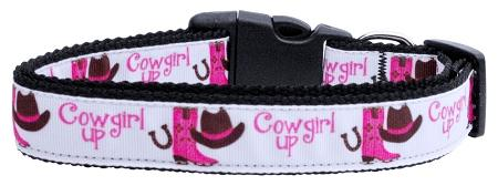 Cowgirl Up Nylon Cat Collar-Dog Collars-Bella's PetStor