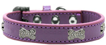 Load image into Gallery viewer, Crystal Bone Premium Dog Collar Size-Dog Collars-Bella's PetStor