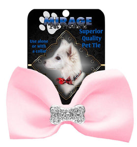 Crystal Bone Widget Pet Bowtie-Bow Ties-Bella's PetStor