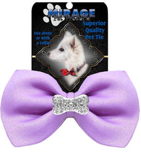 Load image into Gallery viewer, Crystal Bone Widget Pet Bowtie-Bow Ties-Bella's PetStor