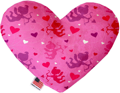 Cupid Hearts Stuffing Free Inch Heart Dog Toy-Valentines-Bella's PetStor