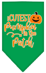 Cutest Pumpkin In The Patch Screen Print Bandana-Holidays-Bella's PetStor