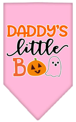 Daddy's Little Boo Screen Print Bandana-Holidays-Bella's PetStor