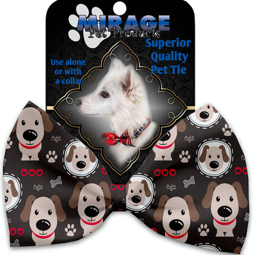 Dapper Dogs Pet Bow Tie Collar Accessory With Velcro-Bow Ties-Bella's PetStor