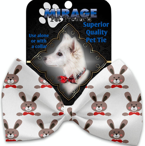 Dapper Rabbits Pet Bow Tie Collar Accessory With Velcro-Bow Ties-Bella's PetStor