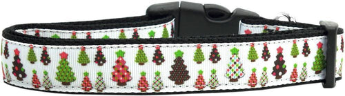 Designer Christmas Trees Nylon Collar-DOGS-Bella's PetStor