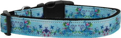Dreamy Blue Nylon Cat Collar-DOGS-Bella's PetStor