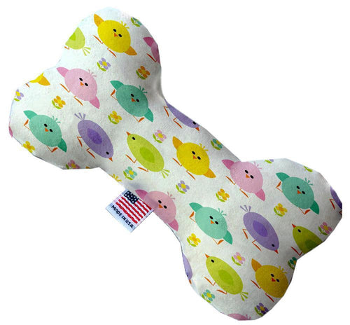 Easter Chickadees Inch Canvas Bone Dog Toy-Made in the USA-Bella's PetStor