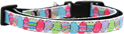 Easter Egg Nylon Ribbon Dog Collar-Easter-Bella's PetStor