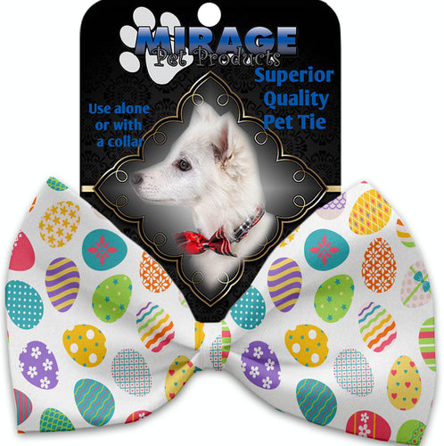 Easter Eggs Pet Bow Tie Collar Accessory With Velcro-Bow Ties-Bella's PetStor