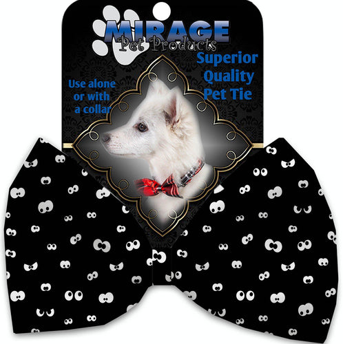 Eyes Eyes Everywhere Pet Bow Tie Collar Accessory With Velcro-Holidays-Bella's PetStor