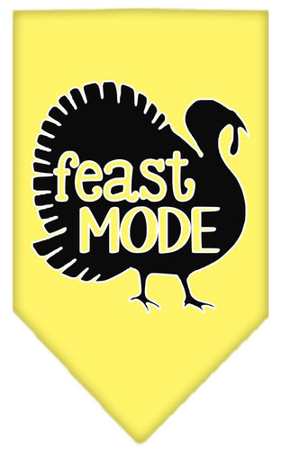Feast Mode Screen Print Bandana-Thanksgiving-Bella's PetStor