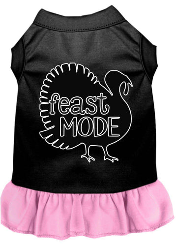 Feast Mode Screen Print Dog Dress-Thanksgiving-Bella's PetStor