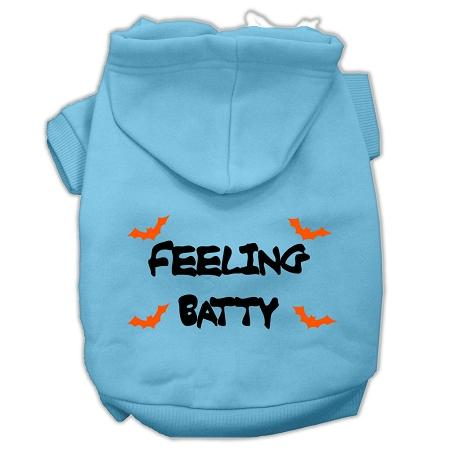 Feeling Batty Screen Print Pet Hoodies Size-Dog Clothing-Bella's PetStor
