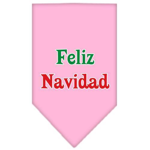 Feliz Navidad Screen Print Bandana-Dog Clothing-Bella's PetStor