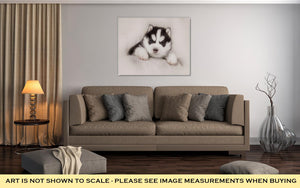 Gallery Wrapped Canvas, Cute Siberian Husky Puppy-Gallery Wrapped Canvas-Bella's PetStor