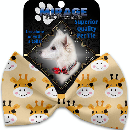 Georgie The Giraffe Pet Bow Tie Collar Accessory With Velcro-Bow Ties-Bella's PetStor